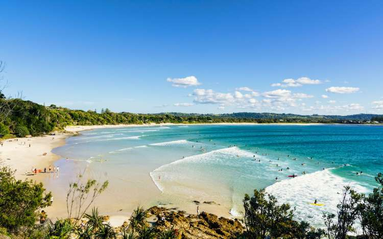 Byron Bay, Wategos Beach