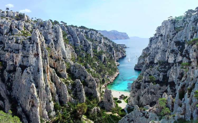 Calanque d'En-vau Beach - France