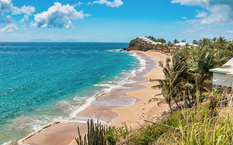 Curtain Bluff Beach - The Caribbean