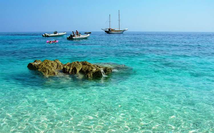 Crystal clear water, Cala Goloritze