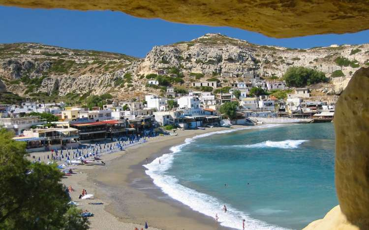 Matala Beach - Greece