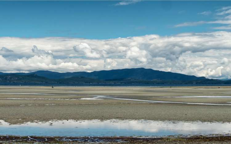 Parksville beach - Vancouver Island