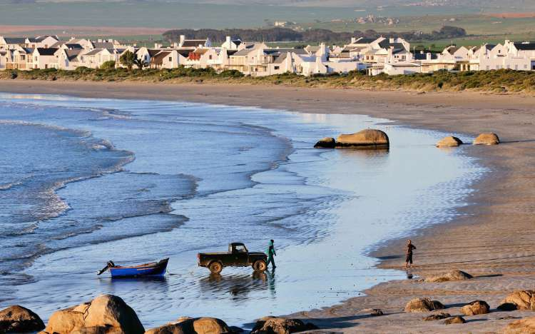 Paternoster beach, South Africa