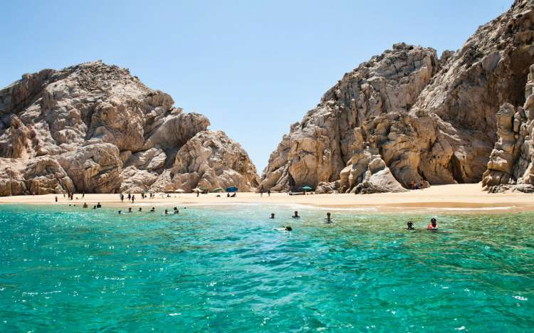 Playa del Amor, Lover's Beach, Mexico