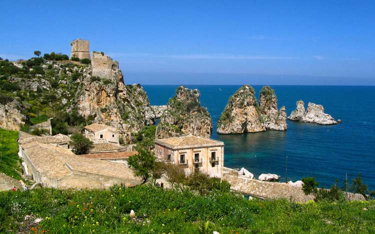 Tonnara di Scopello beach, Sicily