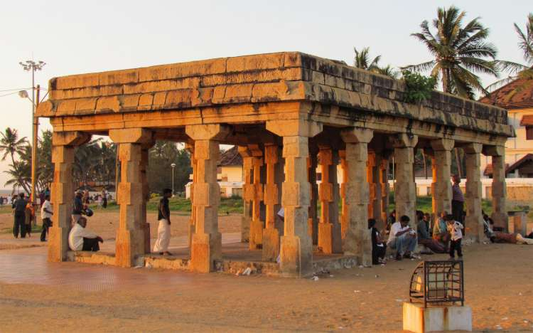 Shangumugam Beach Monument