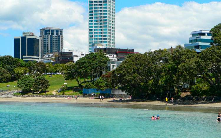 Takapuna Beach - New Zealand