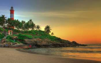 Kovalam Beach - India
