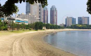 Odaiba Beach - Japan